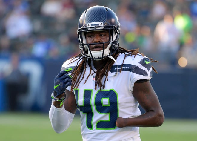 Playing mostly on special teams as a rookie, Seahawks linebacker Shaquem Griffin has seven tackles on the season.