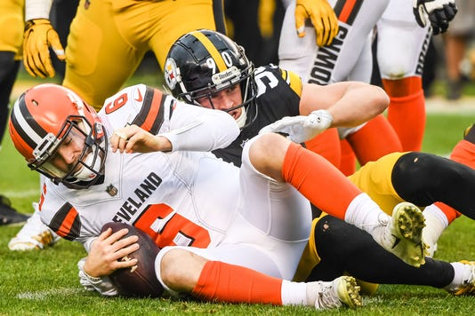 Nfl Cleveland Browns At Pittsburgh Steelers