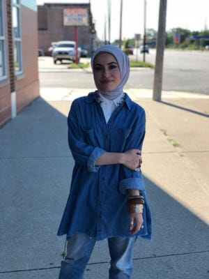 Musician Mona Haydar in Detroit. Michigan has one of the largest American Muslim populations in the United States.