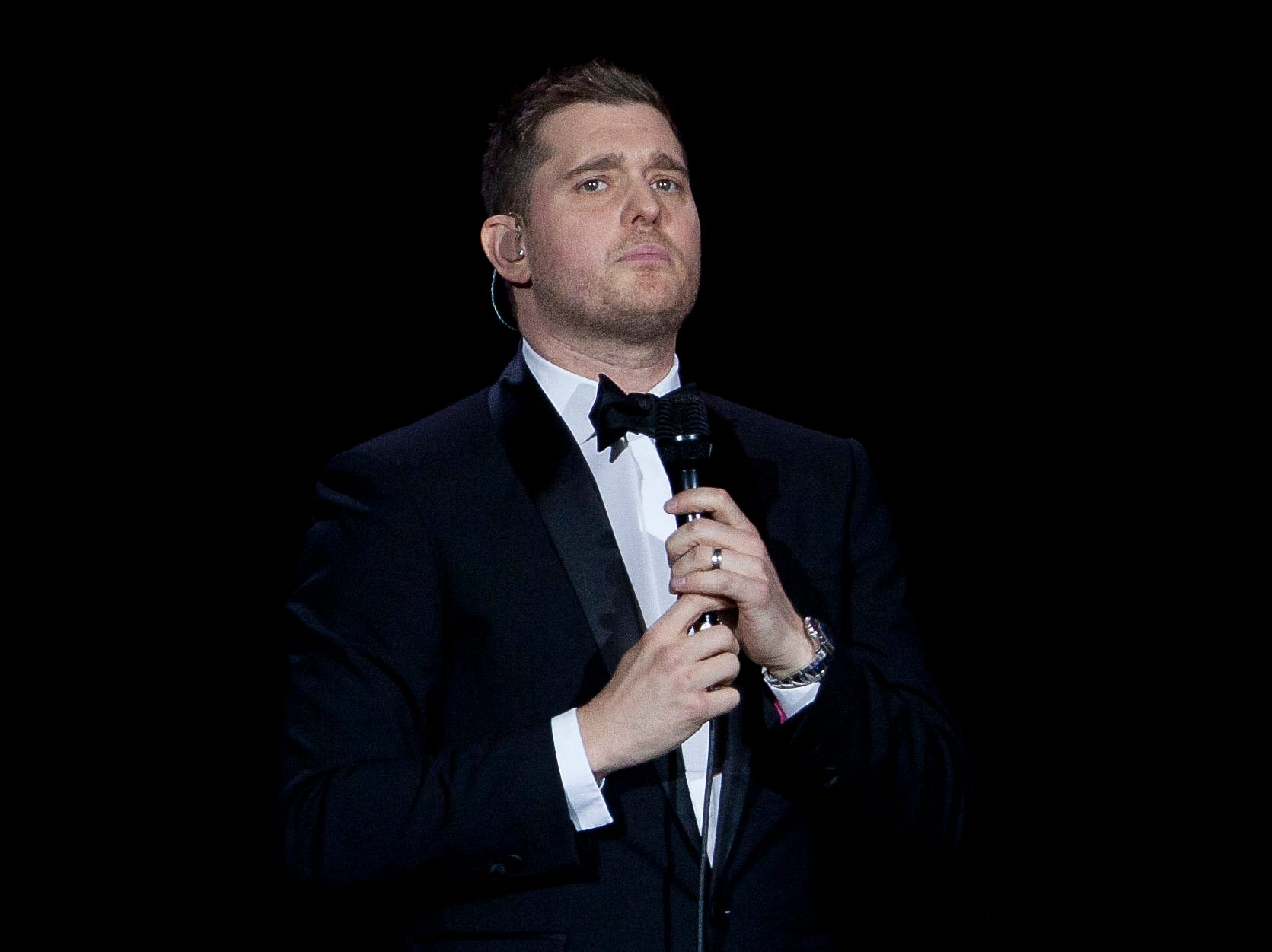 Confused flight attendants asked Michael Buble if he won 'American Idol' or 'The Voice'