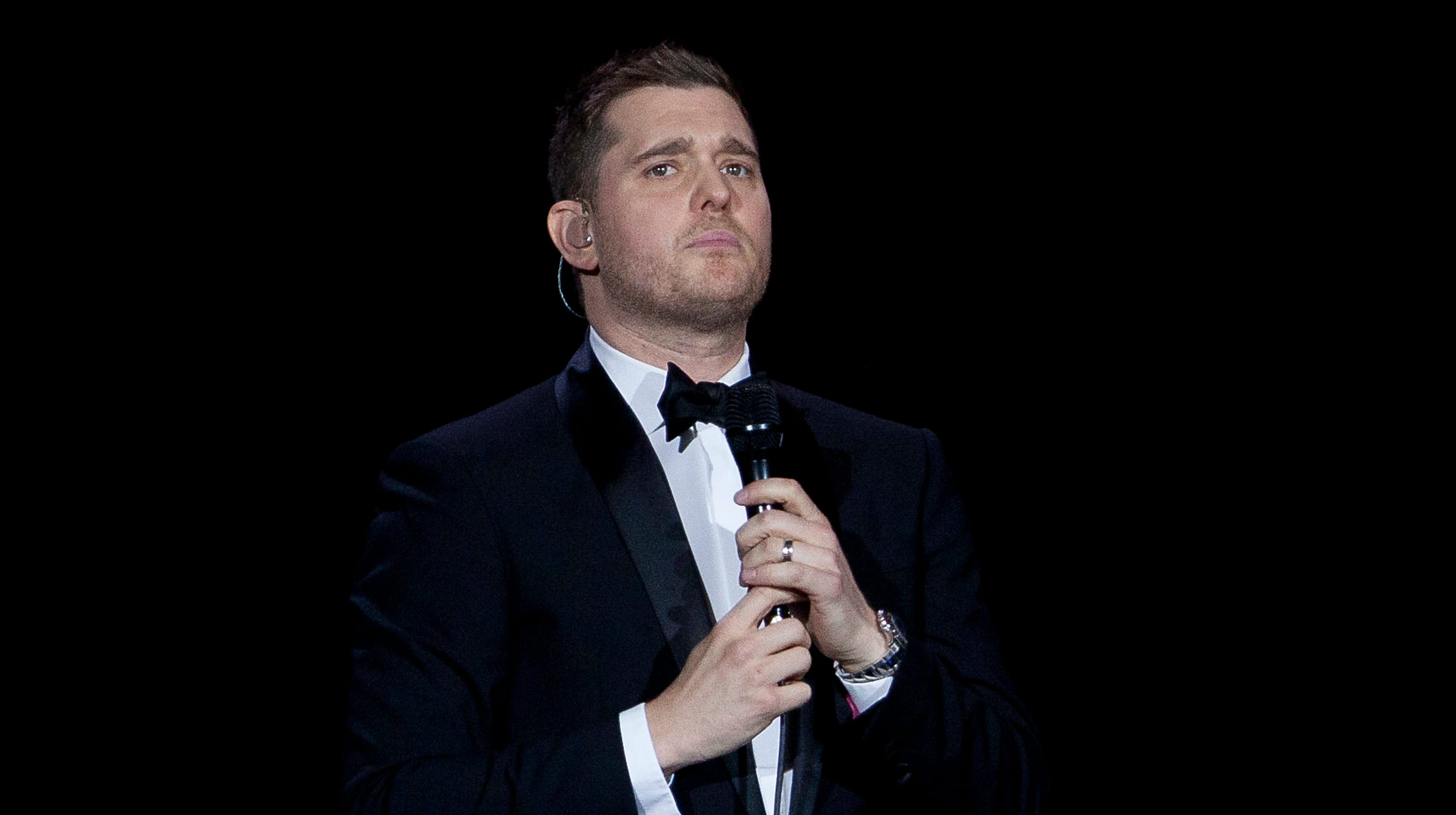 michael buble gets emotional talking about son s battle with cancer
