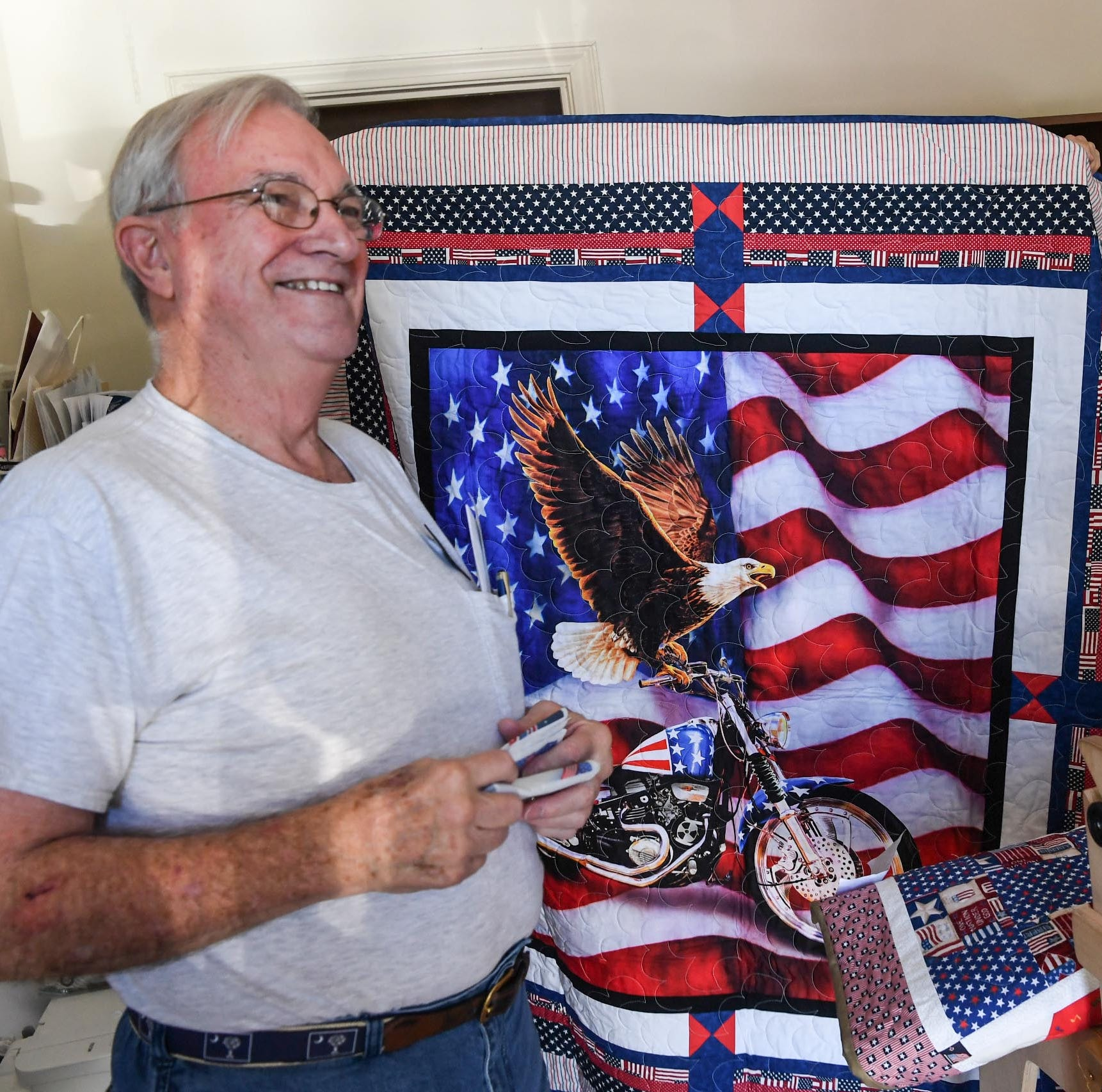 Upstate Quilts of Valor groups wrap veterans in love, appreciation