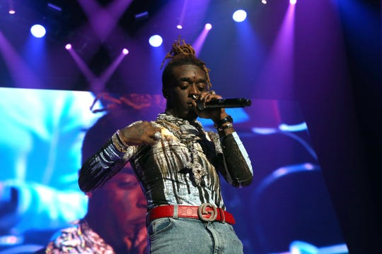 Lil Uzi Vert performs at Power 105.1's Powerhouse 2018 at Prudential Center on October 28, 2018 in Newark, New Jersey.