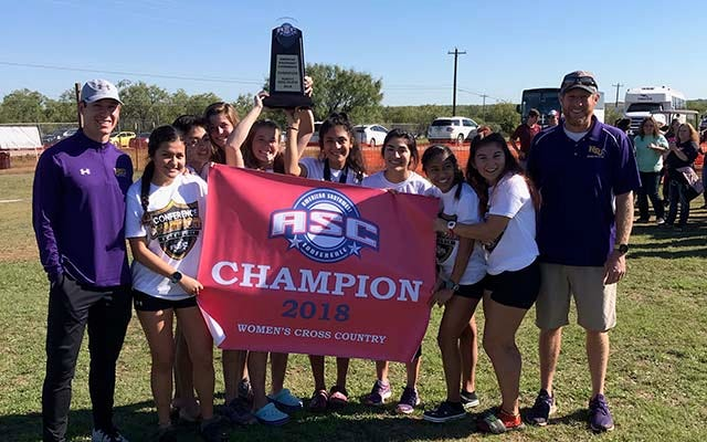 The Hardin-Simmons women's cross country team won the American Southwest Conference championship on Saturday in Abilene.