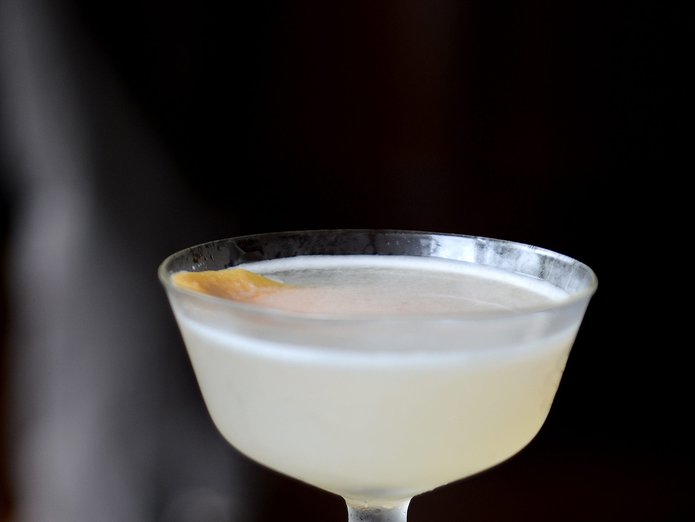 Hemingway's Daquiri at Little Jumbo, in the style of a daquiri before the advent of the blender, is silver rum, lime, grapefruit, Luxardo Maraschino and sugar.