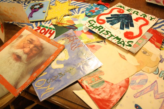 Vestal artist Ramona Kacyvenski made about 80 cards for her mother, beginning at the age of six.