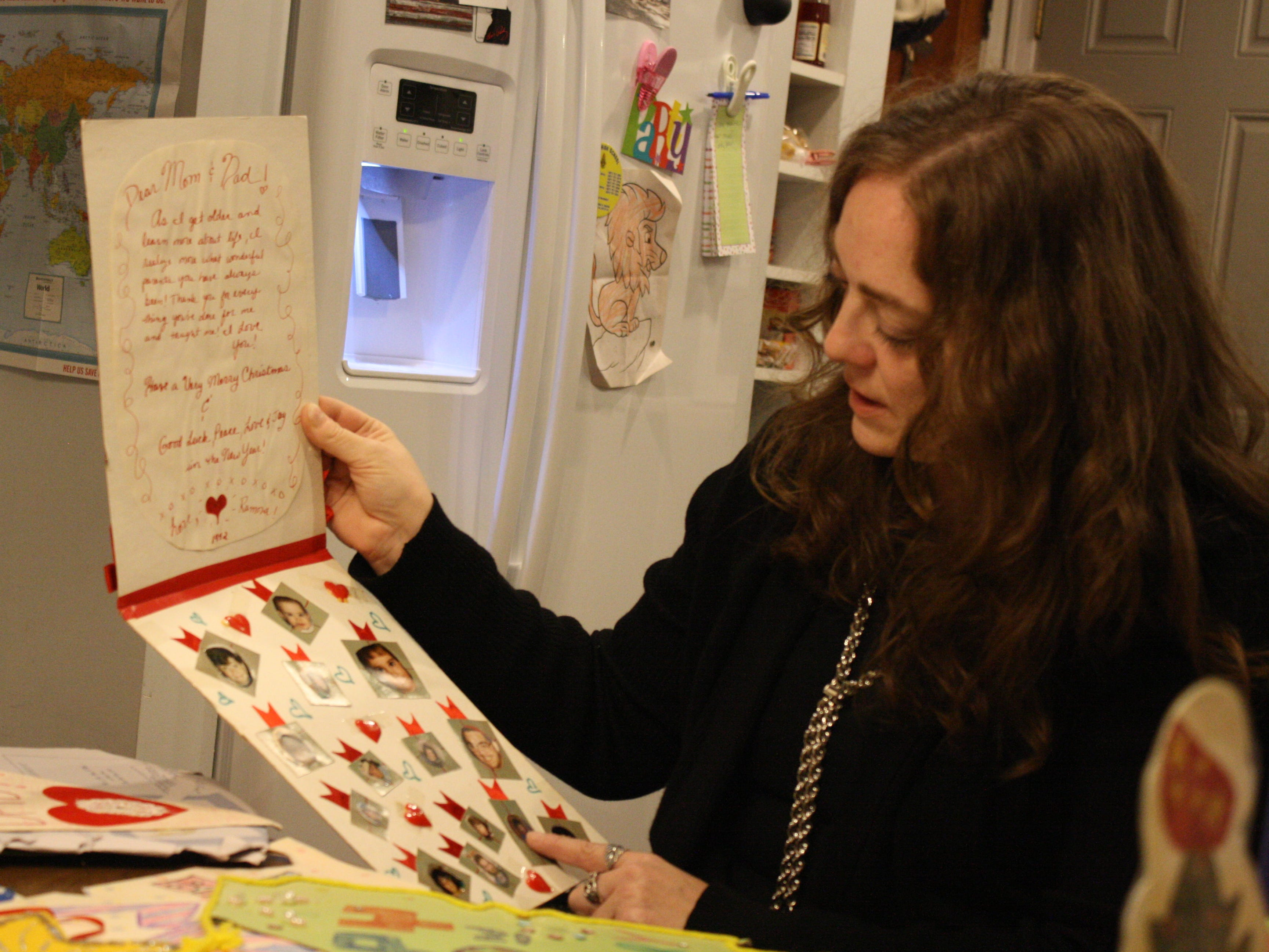 Vestal artist Ramona Kacyvenski and her father-in-law, David Kacyvenski, will display nearly 200 handmade cards in a show at the Phelps Mansion Museum on Nov. 2.
