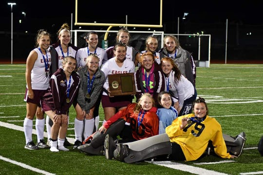 The Whitney Point Eagles won a sixth straight Section 4 Class C field hockey title Oct. 26.