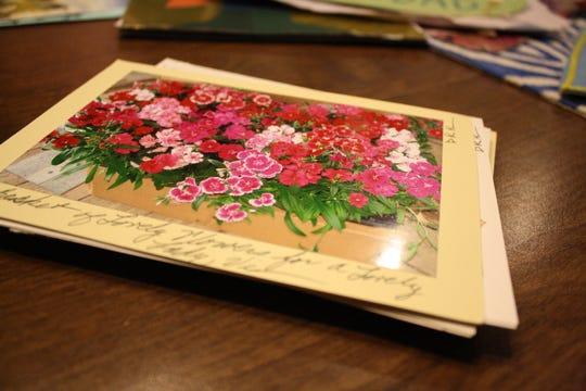 Hilltop resident David Kacyvenski creates cards using his own photography.