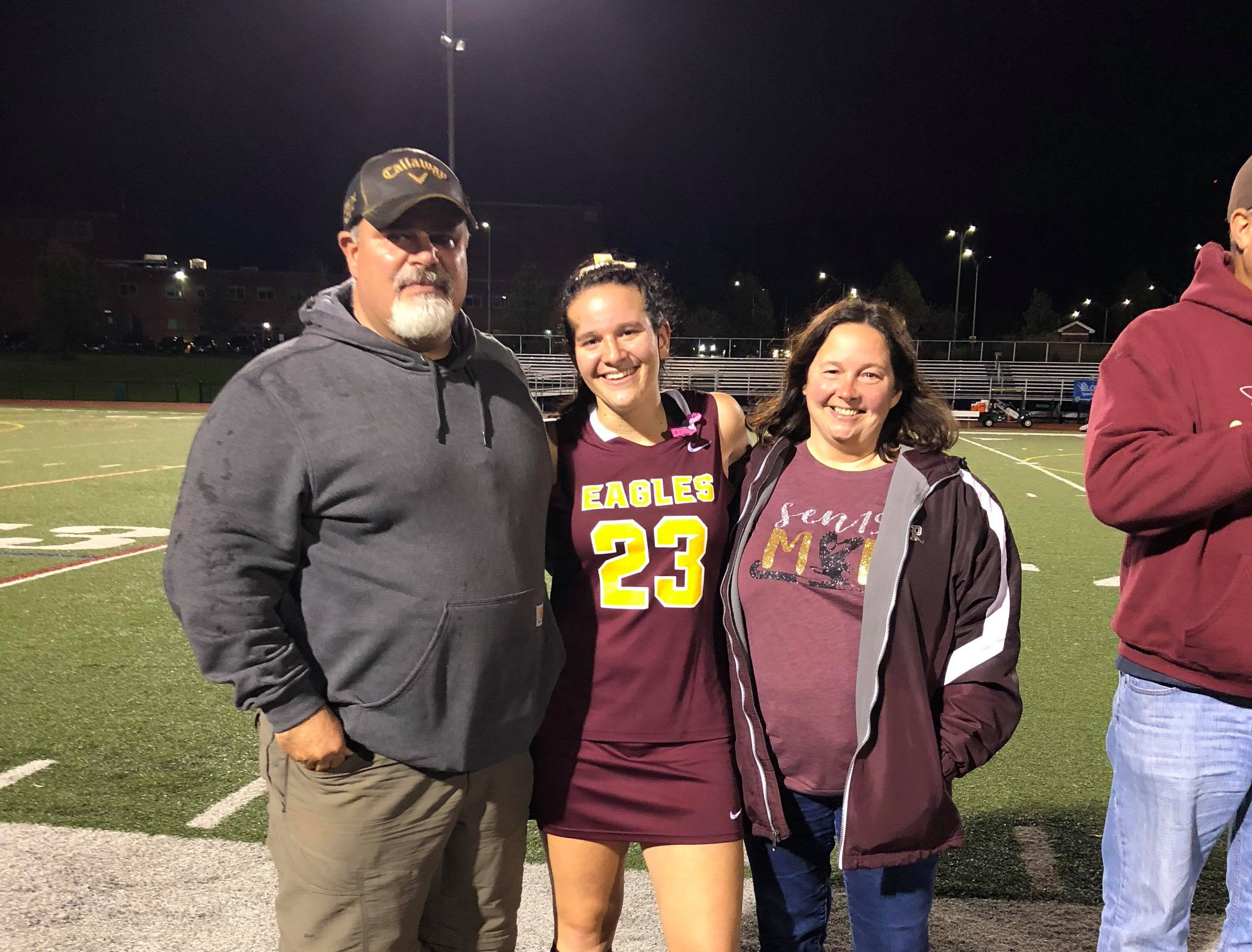 Makayla Haven (#23), Todd and Christine Haven