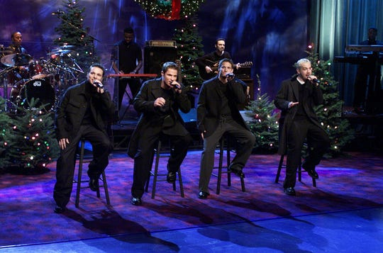 The 2018 Christmas Tour for 98 degrees is a massive, 36-stop affair.