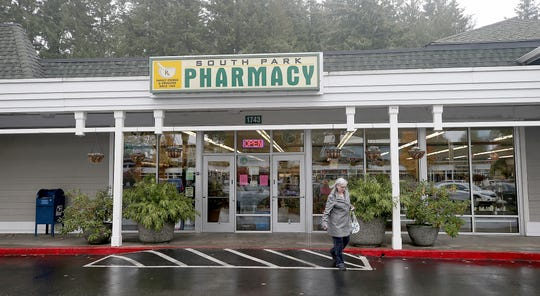 South Park Pharmacy became a Port Orchard institution by offering diverse services like a utility pay station and a post office in addition to filling prescriptions.