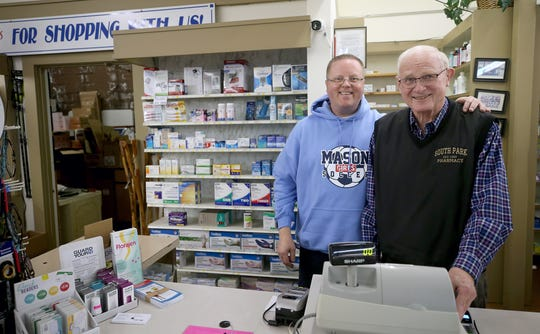 Jeff and Ken Paskett say they have no plans to call it quits after 50 years of running South Park Pharmacy.