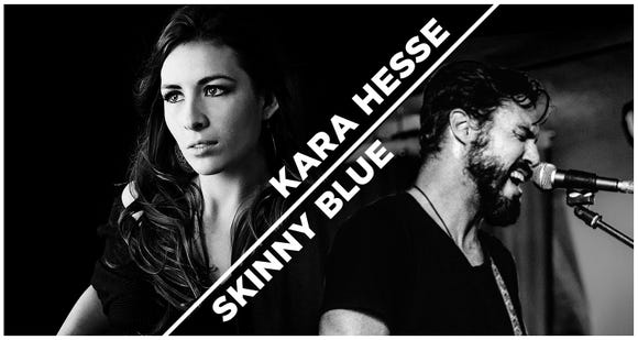 Kara Hesse and Skinny Blue play new music Nov. 3 at the Admiral Theatre.