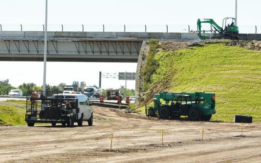 Viera Boulevard Overpass Ramp Construction