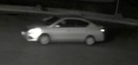 Richmond police issued this picture of a car believed to have transported a man who burglarized Stone Corral Brewery in the early morning hours of Oct. 28, 2018. They are hoping to identify him.