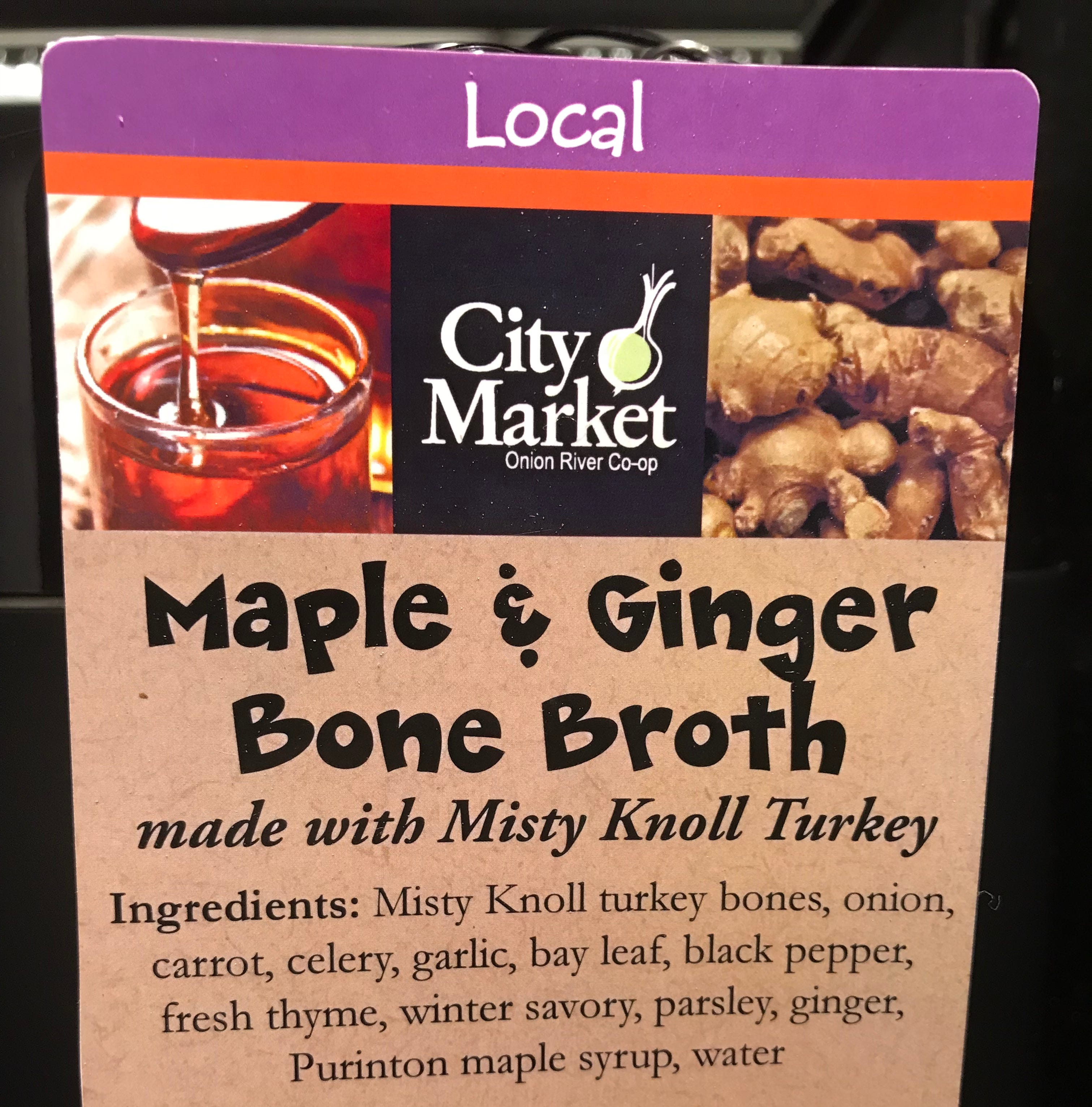 Best part of waking up is bone broth in your cup? City Market lets you decide
