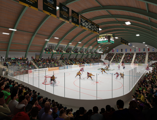 Construction for the University of Vermont's multipurpose facility, which will include a new home for the basketball programs, could begin as early as this winter.