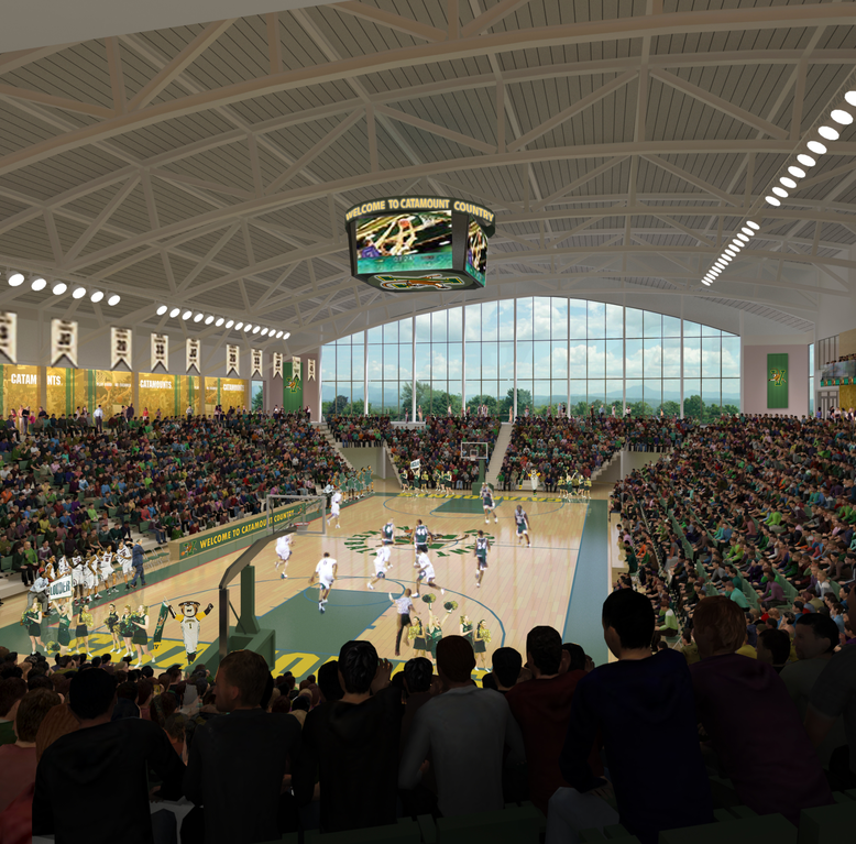 UVM's new arena has its name: Tarrant Event Center