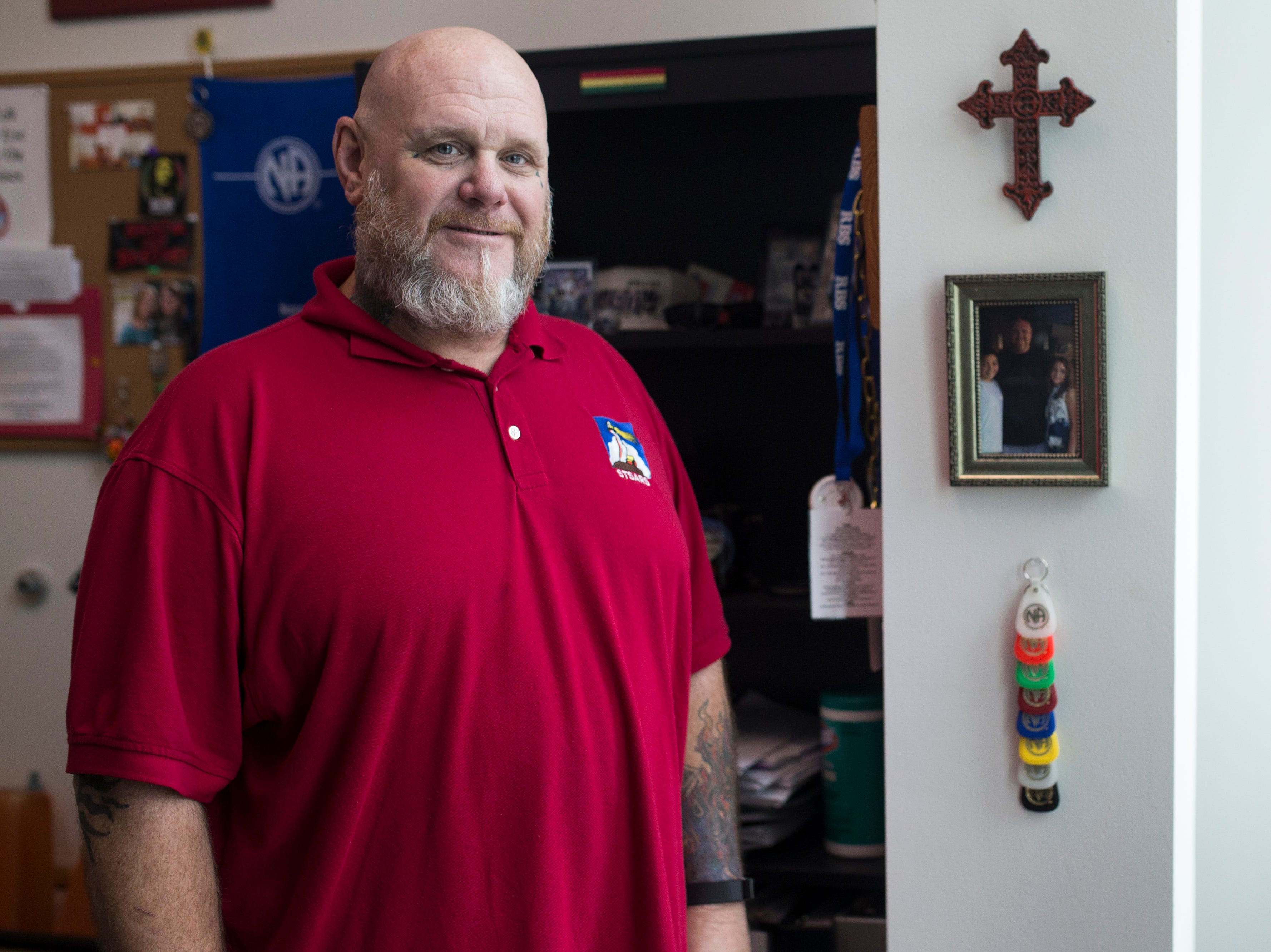 Troy Walters is a drug counselor forSouth Texas Substance Abuse Recovery Services. He said Corpus Christi has a major issue with heroin, one of several opioids.
