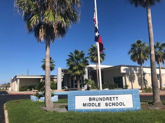 Brundrett Middle School on Oct. 29, 2018.