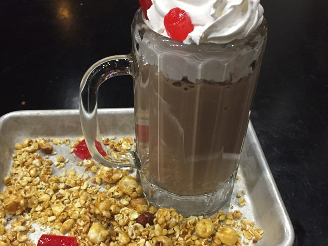 The movie theater shake at GameWorks  at Newport on the Levee