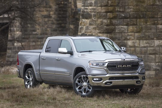 The 2019 Ram 1500 Limited features luxury-level appointments.