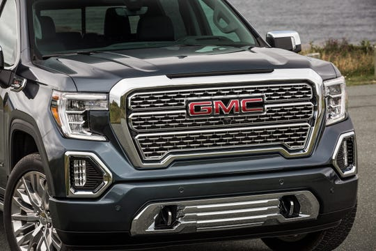 The 2019 GMC Sierra Denali offers various luxury touches.