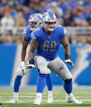 Lions tackle Taylor Decker