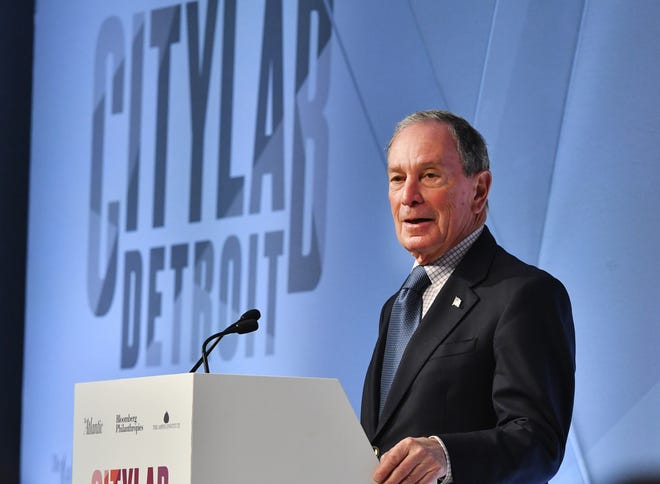 Michael Bloomberg, former Mayor of New York City and founder of Bloomberg LP and Bloomberg Philanthropies welcomes CityLab participants.