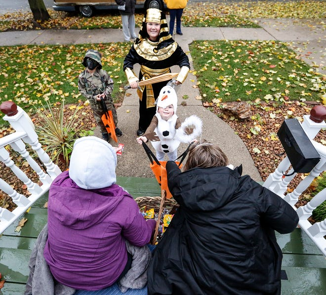 Be extra careful on Oct. 31 to help keep trick-or-treaters safe on Halloween.