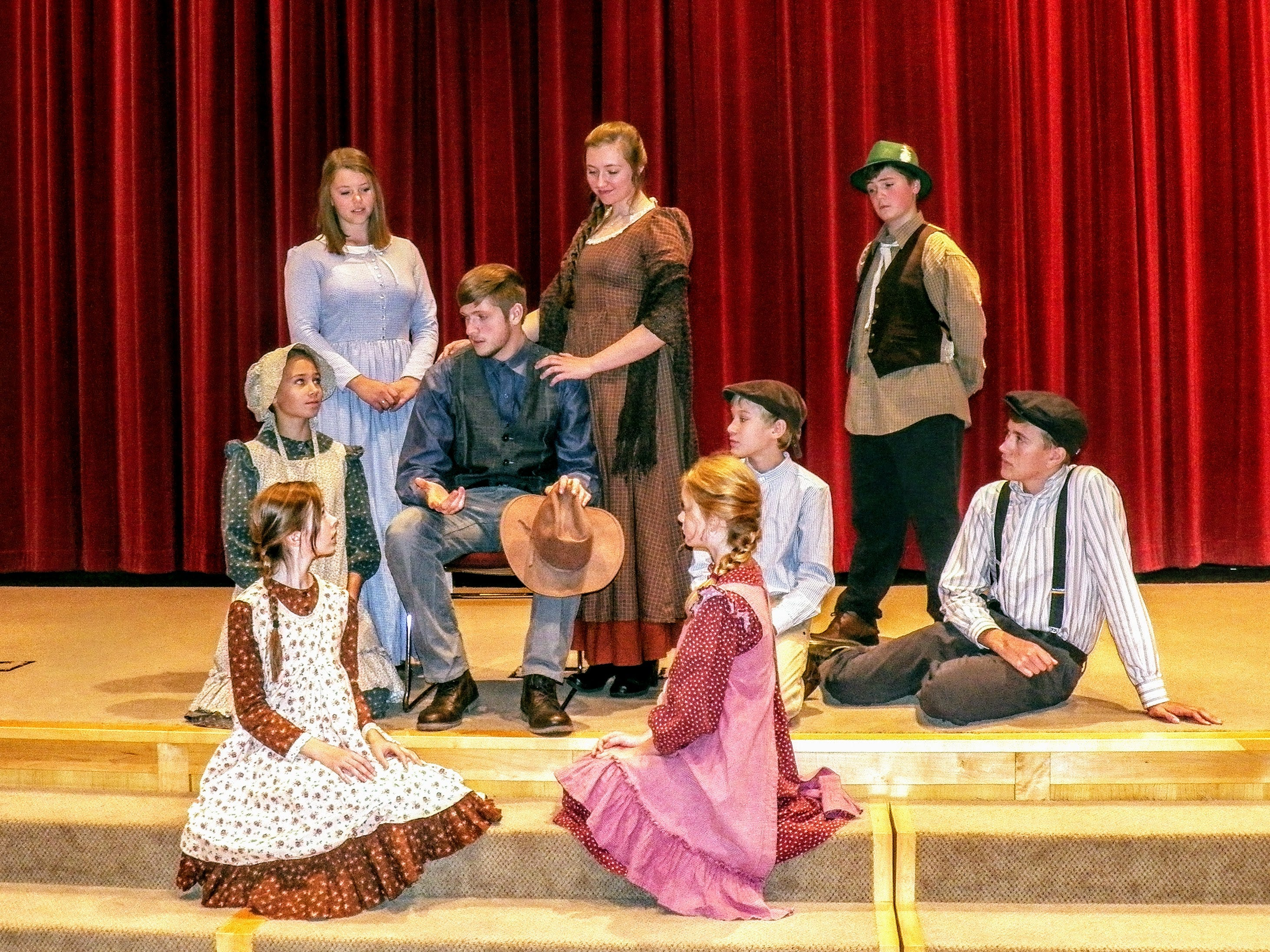 'Caddie Woodlawn' story to be presented by homeschool troupe Nov. 9-10