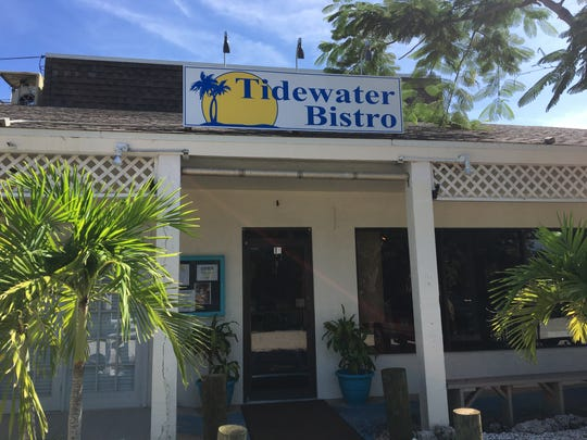 Tidewater Bistro on Sanibel opened in April in the location that once housed Rosy's and The Hungry Heron.