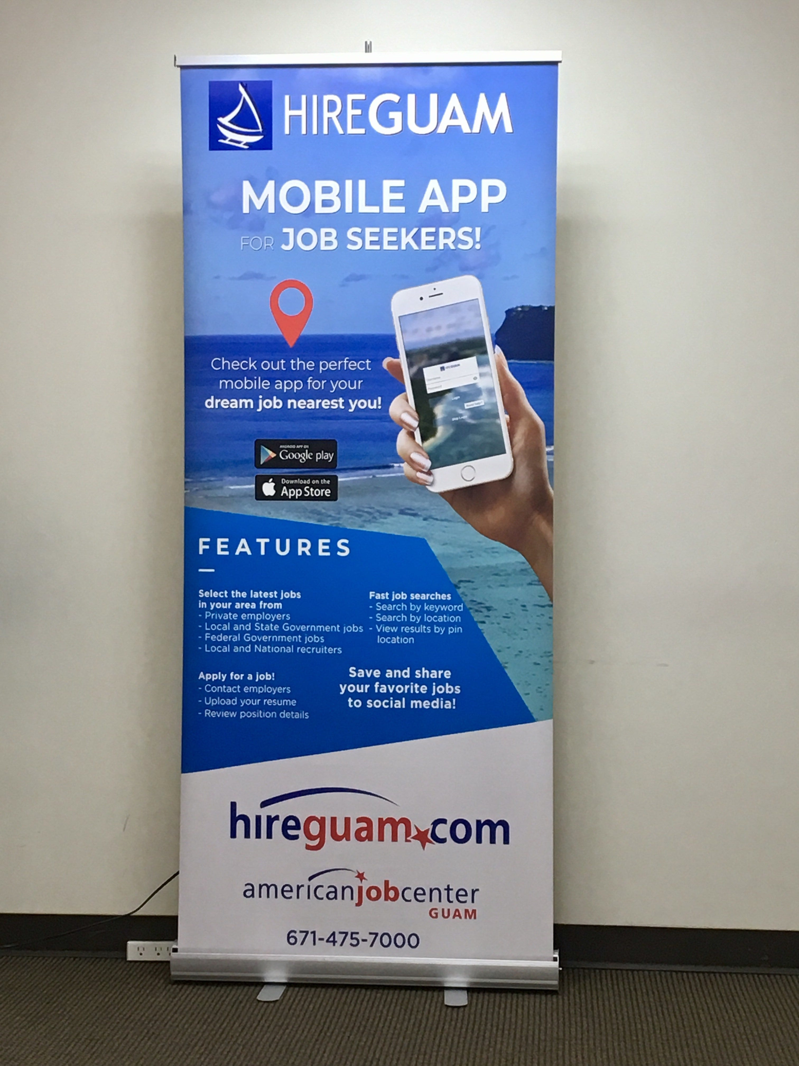 HireGuam app launches