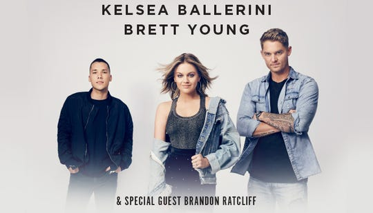 Kelsea Ballerini's 2019 Miss You More Tour, with Brett Young and special guest Brandon Ratcliff