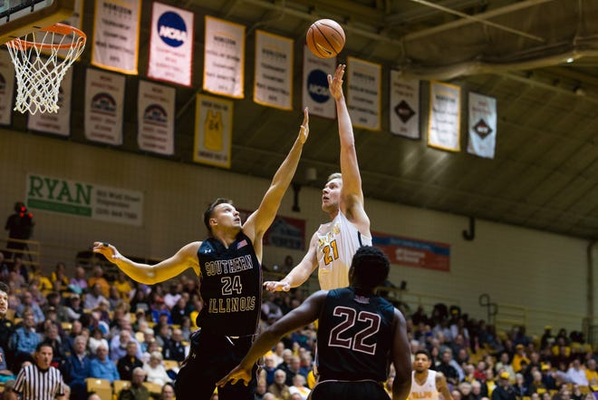 Derrik Smits is a redshirt junior center for the Crusaders.