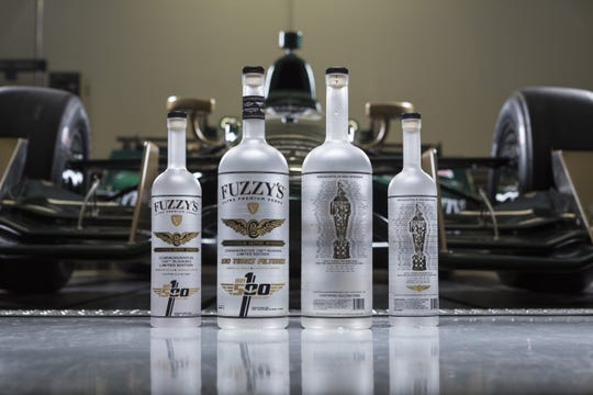 Fuzzy's Vodka has been on Ed Carpenter's cars since 2012.