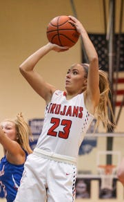Center Grove's Emma Utterback will be key to the Trojans' hopes this season.