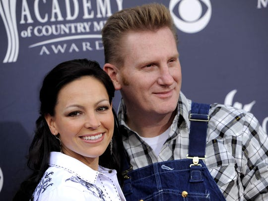 Joey Martin Feek, left, and Rory Lee Feek are seen in this 2011 photo.