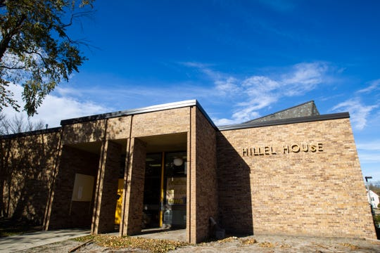 Hillel House is seen on Monday, Oct. 29, 2018, at 122 E Market St. in Iowa City.