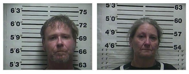 Two people were arrested in Greenfield on Oct. 24 for methamphetamine-related charges.