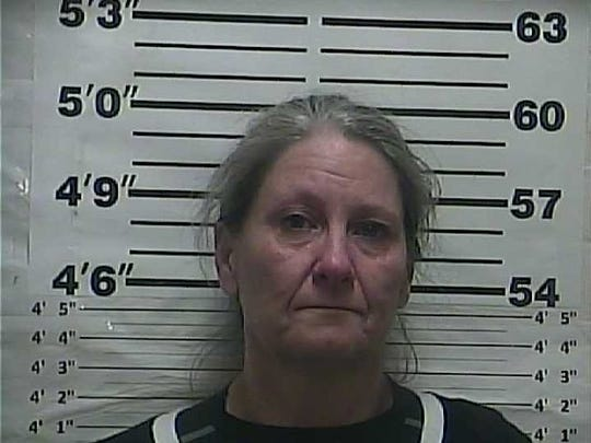 Tracy Lynn Berry was arrested on Oct. 24 with charges of possession of methamphetamine with intent to resale and possession of drug paraphernalia.