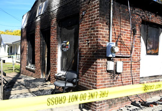 The Watkins Store located on the corner or Hayes and Eden St. in East Jackson was destroyed by a fire early Monday morning, October 29.