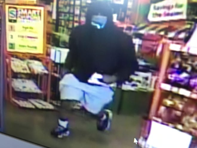 A masked individual allegedly robbed a Family Dollar Store in Humboldt at gunpoint on Sunday. Police are still searching for the robber.