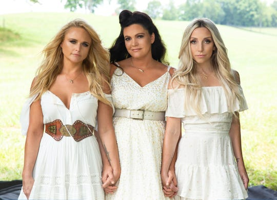 The Pistol Annies are, from left, Miranda Lambert, Angaleena Presley and Knoxville native Ashley Monroe.