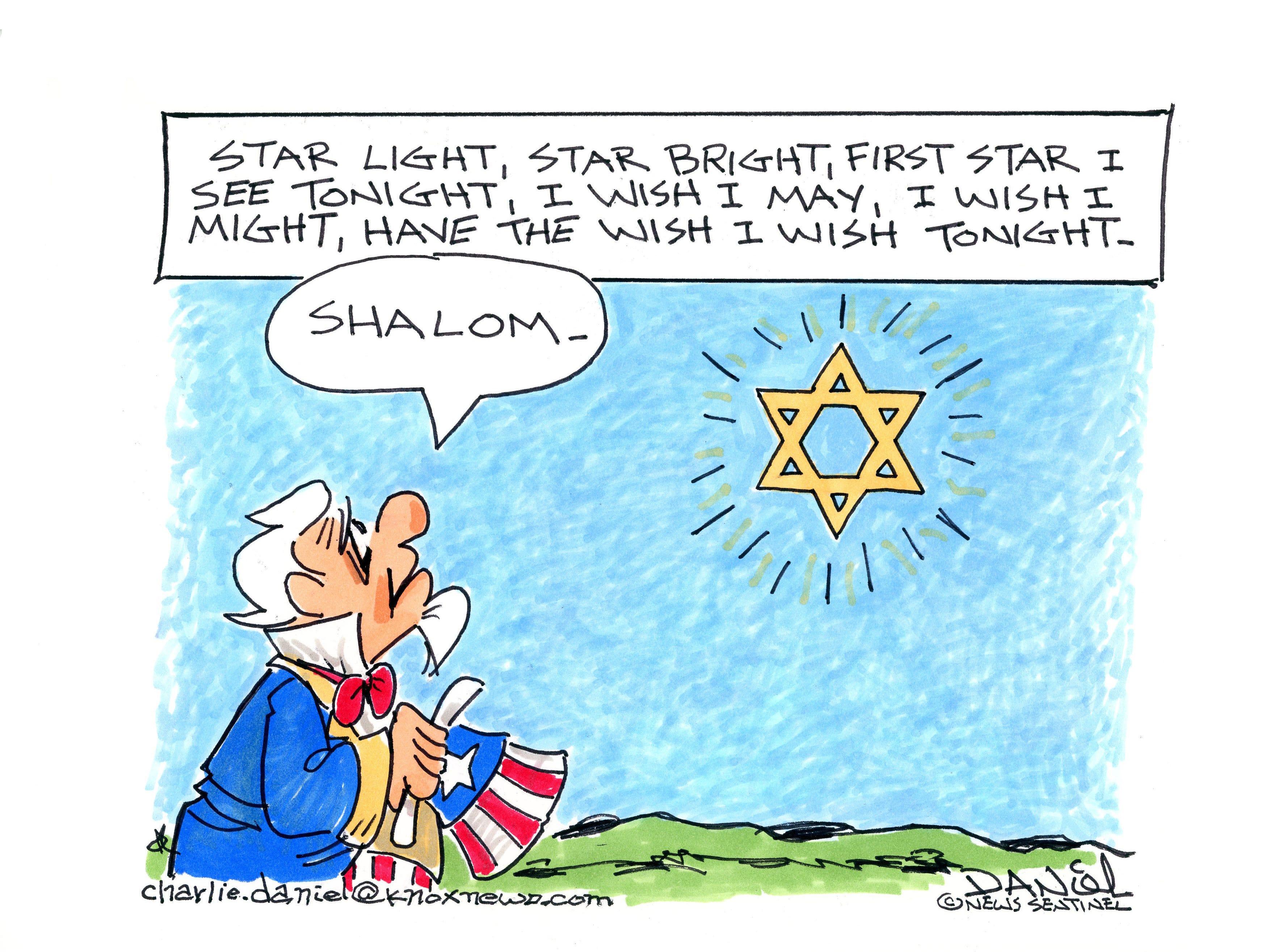 Charlie Daniel editorial cartoon for Tuesday, Oct. 30, 2018.