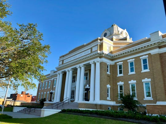 The Beauregard Parish Courthouse was built in 1914-15 in DeRidder, the parish seat. The 100-year-old building remains operational and can be found along the Myths & Legends Byway.