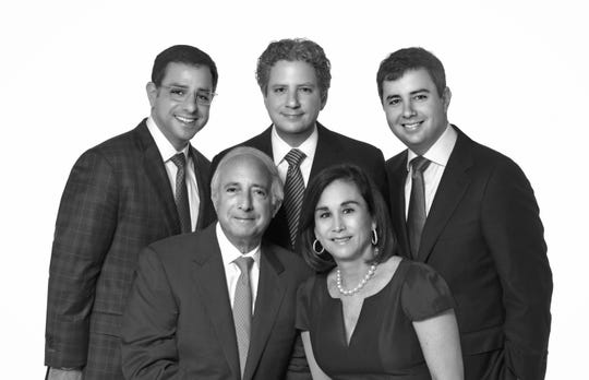 Berg Family: Left to right (back) Ryan, Scott, Chad, (front) Lee, and Brenda Berg