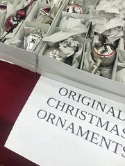 Nazi Christmas Ornaments for sale at the Louisville Expo Center