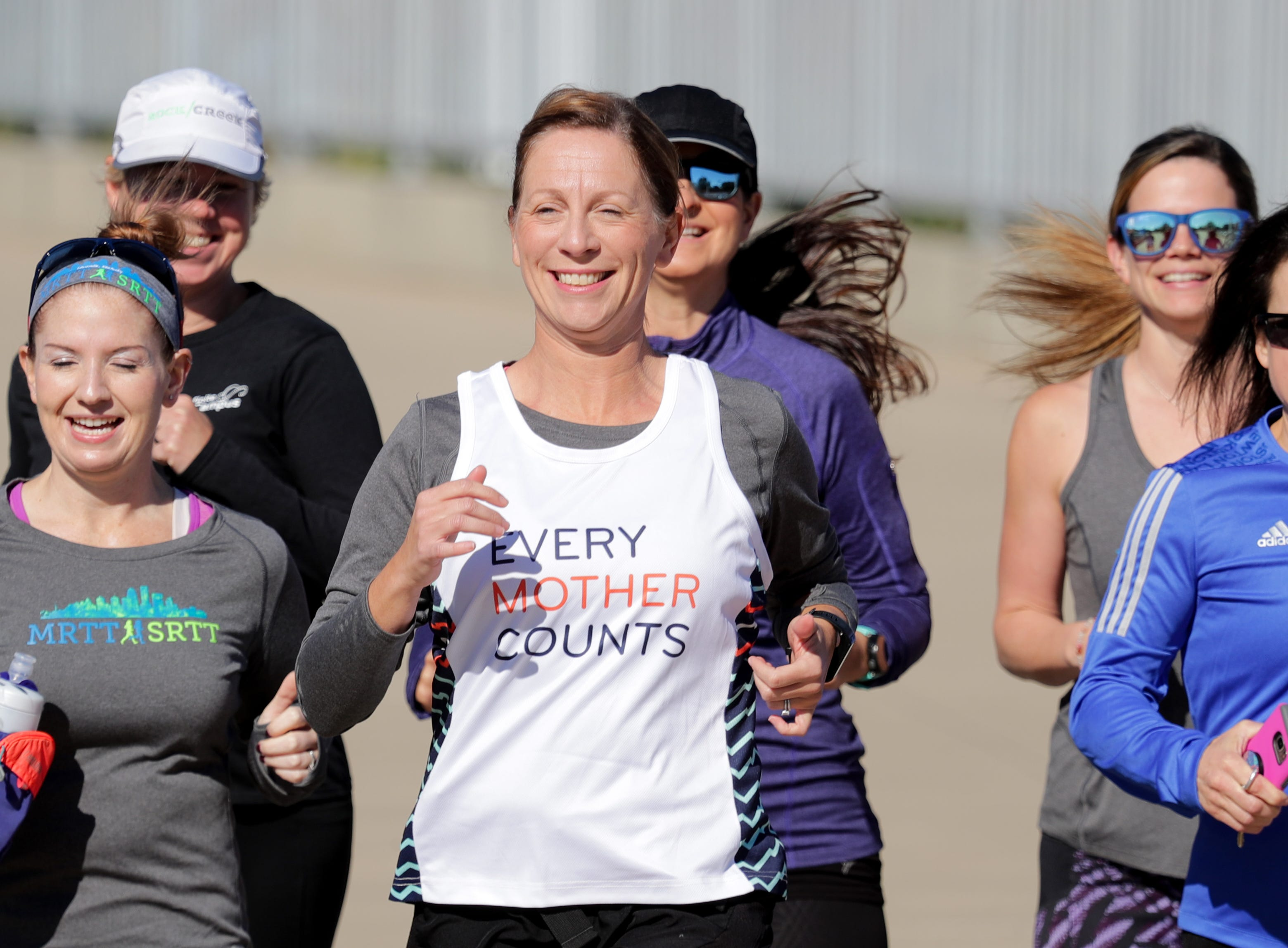 Kentucky mom runs to fight maternal deaths after near-tragic pregnancy